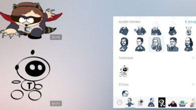 Bild von Anleitung: Eigene Sticker-Pakete für Telegram erstellen