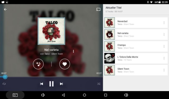 Die Musikwiedergabe beherrscht das Orbsmart Soundpad 500 erfreulich gut