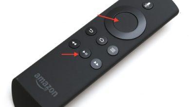 Bild von Amazon Fire TV (Stick) per Fernbedienung neu starten und in den Ruhezustand versetzen