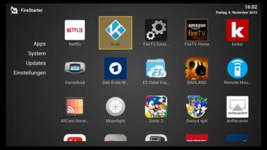 Bild von Anleitung: Fire-TV Apps mit FireStarter einfacher starten