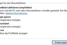 Bild von Anleitung: Schnellstart-Option von Windows 10 aktivieren und den PC schneller hochfahren