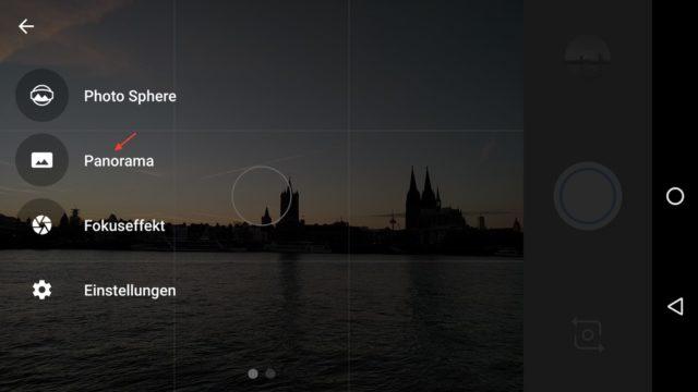 Panoroma-App starten...