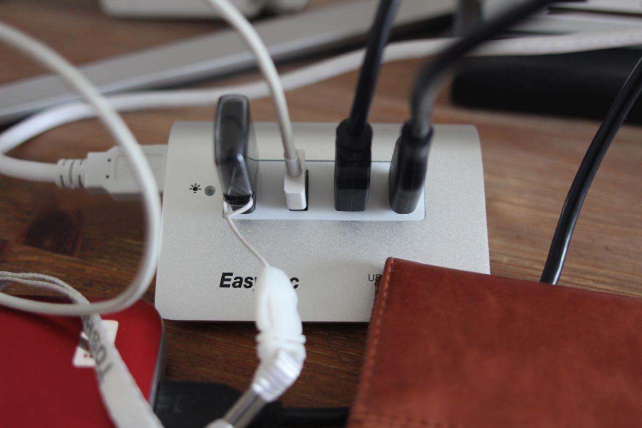 EasyAcc_USB-Hub - 3