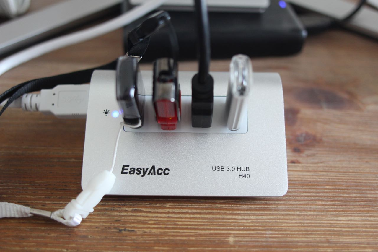 Kurztest: EasyAcc H40 USB-3.0-Hub im Mac-Design