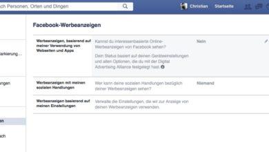 Bild von Anleitung: Personalisierte Werbung bei Facebook deaktivieren