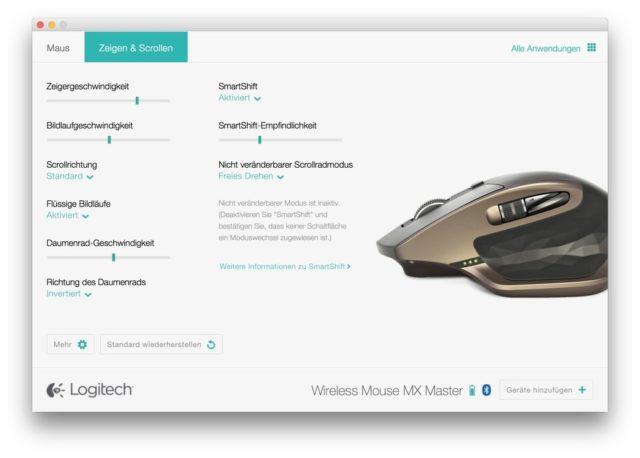 Wenn eine Treibersoftware für Begeisterung sorgt, hat der Hersteller etwas richtig gemacht - bei Logitech Options ist es so