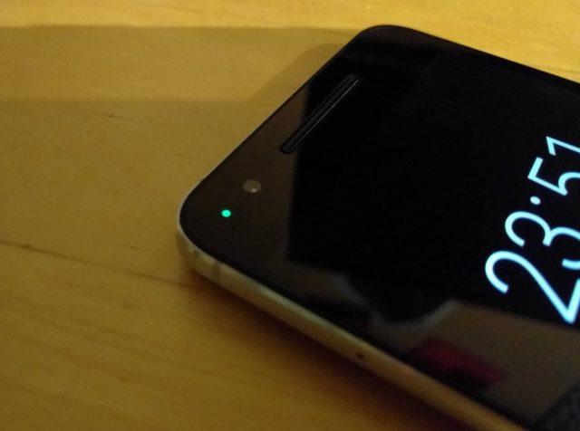 Nexus 6p Benachrichtigungs-LED
