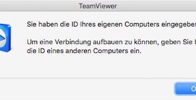Bild von Was tun, wenn die TeamViewer-ID am Mac bereits vergeben ist?