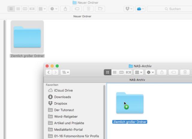 OS X verschieben