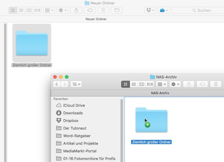 Dateien und ordner unter os x einfacher verschieben for Fenster verschieben