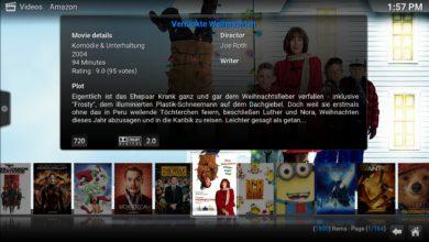 Bild von Anleitung: Amazon Prime Instant Video in Kodi nutzen (nach den Script-Fehlern)