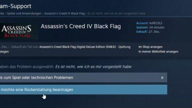 Photo of Anleitung: Spiele bei Steam umtauschen und das Geld zurück bekommen