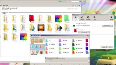 Bild von Tipp: Ordnung im Windows Explorer mit farbigen Ordnern