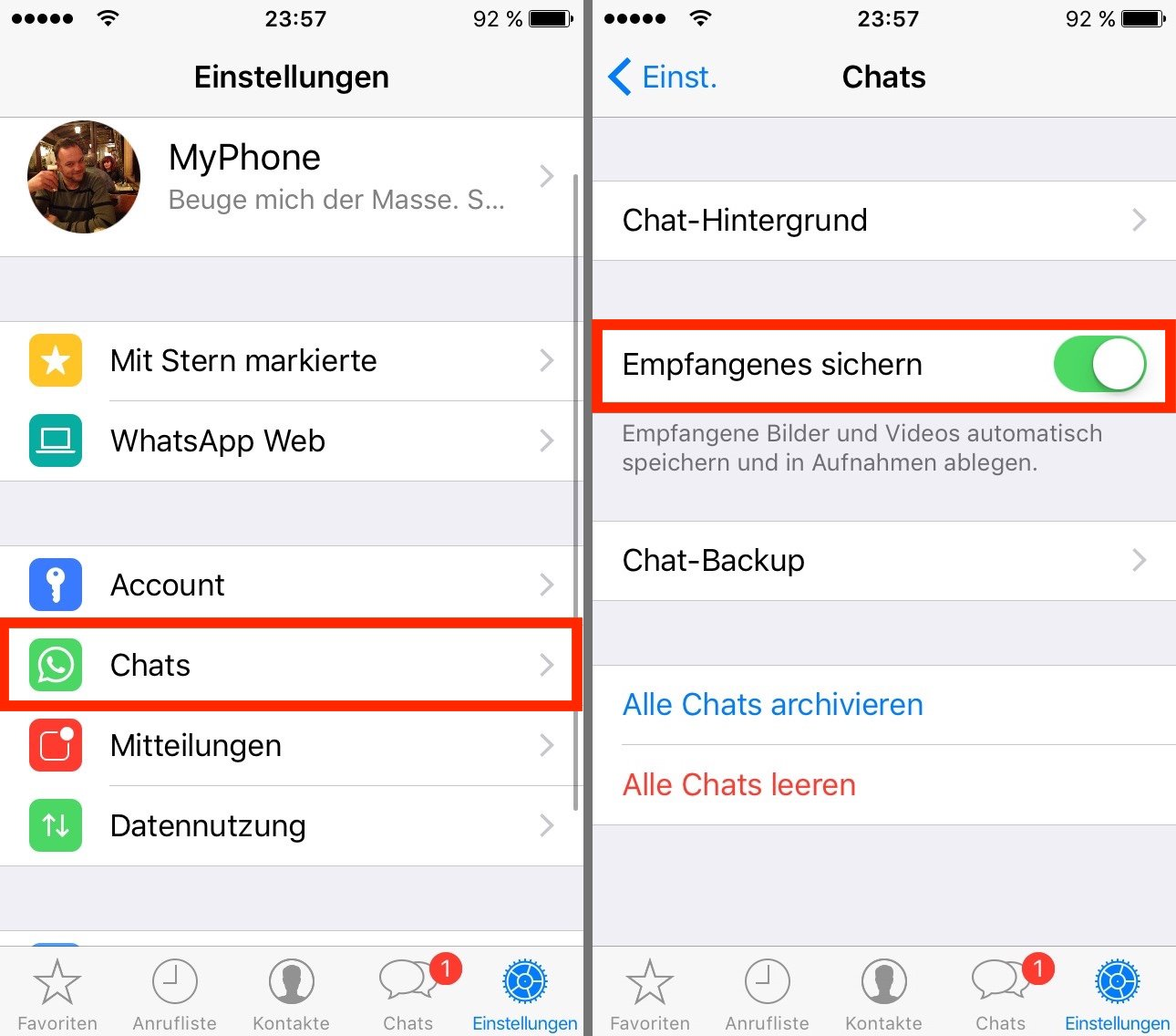 Whatsapp Iphone Mehrere Bilder Senden