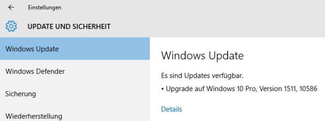 So sollte es sein: Größere Windows-Builds werden über Windows Update verteilt