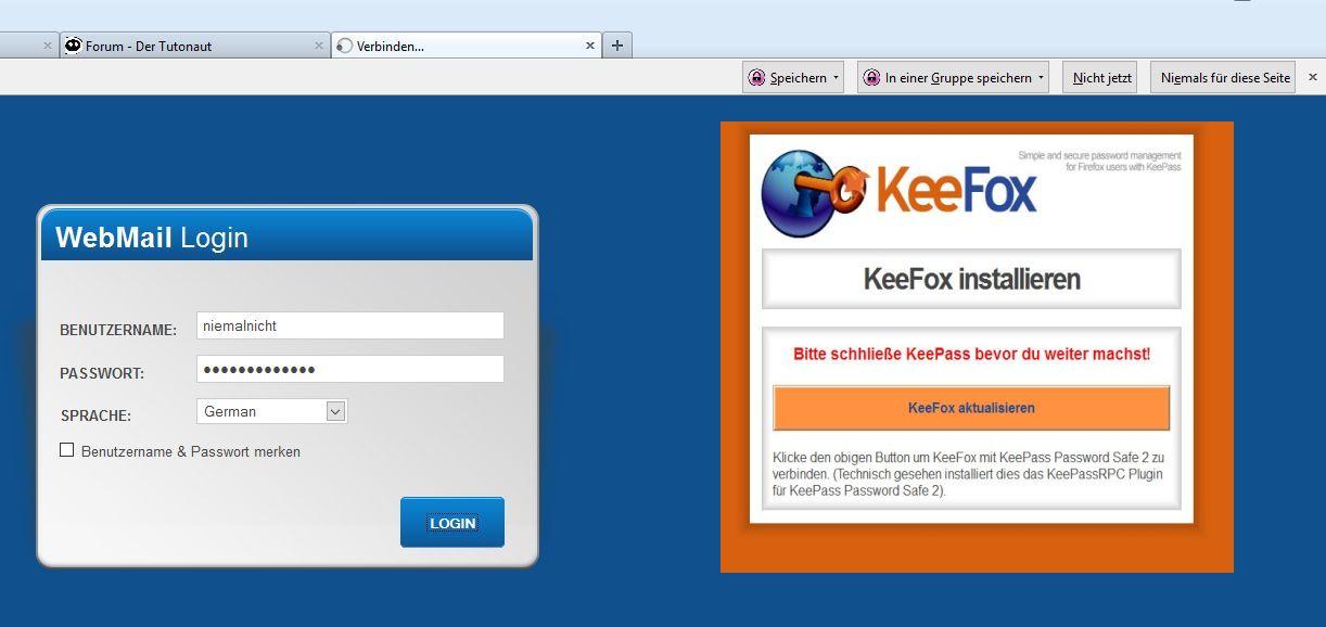 Anleitung: Automatische Logins mit KeePass | Tutonaut