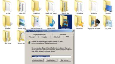 Bild von Anleitung: Nutzer-Ordner auslagern und SSD entlasten