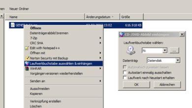 Bild von Tipp: Die einfachste Art, ISOs, IMGs und weitere Images unter Windows einzuhängen