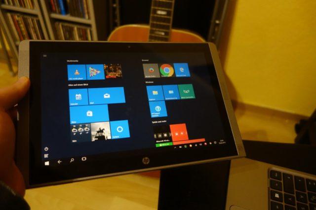 Windows 10 zum Anfassen: Noch nicht ganz ausgereift