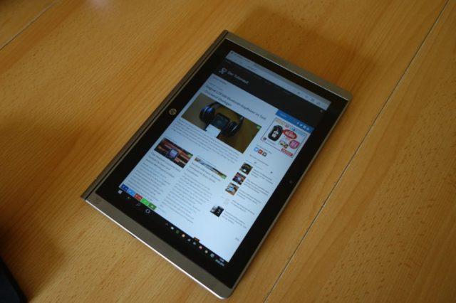 Das nicht allzu scharfe Display des X2 210 disqualifiziert es in meinen Augen als Surf-Tablet