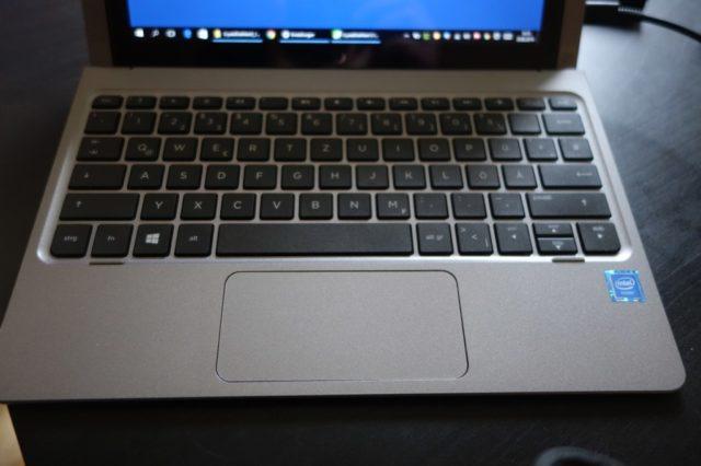 Die Tastatur bietet ein erfreulich gutes Schreibgefühl
