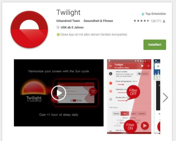 Twilight Play Store