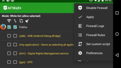 Bild von Online-Verbindungen unter Android per Whitelisting verhindern