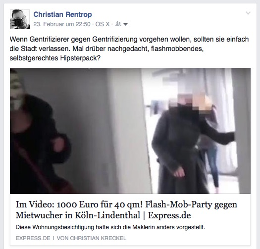 Flashmob-Gentrifizierung-Video