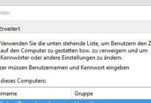 Bild von Automatisch und ohne Passwort in Windows 10 einloggen
