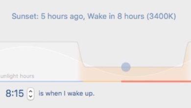 Bild von Night Shift auf dem Mac nachrüsten