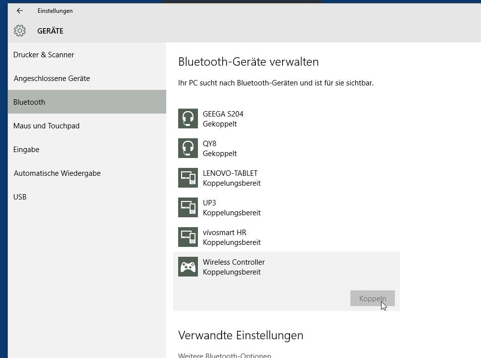 how to connect ps4 controller to pc bluetooth ds4windows