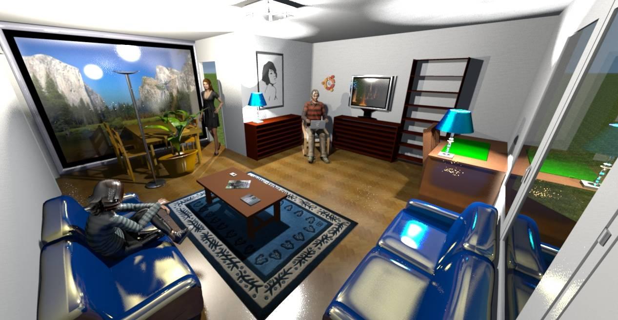 Anleitung kostenlose raumplanung mit sweet home 3d for Raum planung software