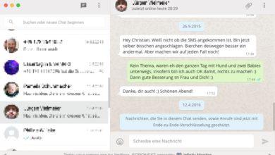 Bild von So nutzt Ihr Whatsapp auf iPad und Mac