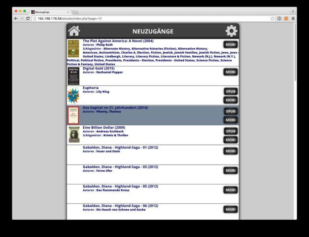 Per Klick Bücher auf den Kindle herunterladen - mit einem eigenen Server kein Problem!