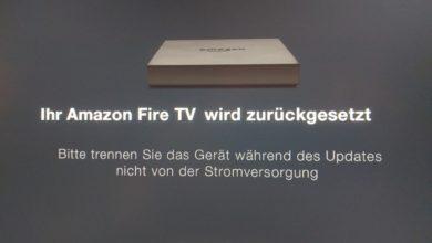 Bild von Amazon Fire TV auf Werkseinstellungen zurücksetzen