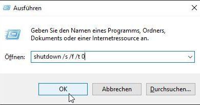 Bild von Windows 10 vollständig neu starten und Probleme beheben