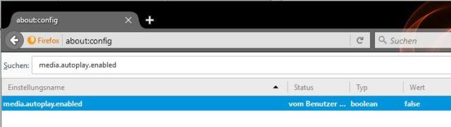 HTML5-Videos Firefox