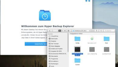 Photo of Anleitung: Daten aus Synology Hyper Backup am PC oder Mac wiederherstellen