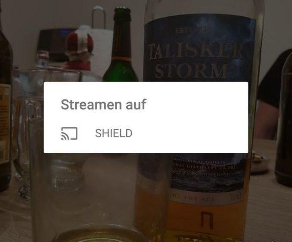 Shield TV Chromecast
