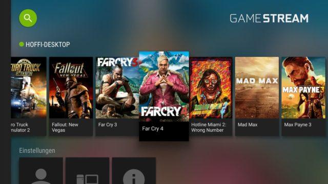 Nvidia Game Stream