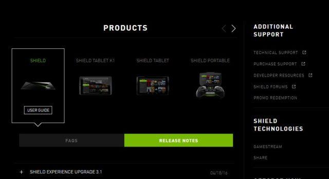 Nvidia versorgte seine Hardware zuverlässig mit Android-Updates und neuen Funktionen