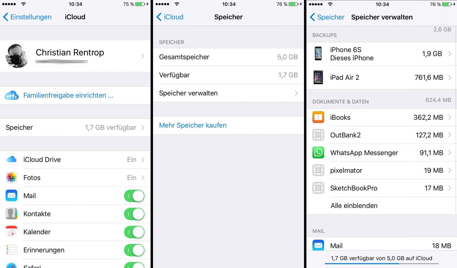 iCloud-Speicher_1