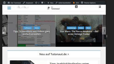 Bild von Touch-Gesten und Mobil-Ansicht unter Firefox aktivieren