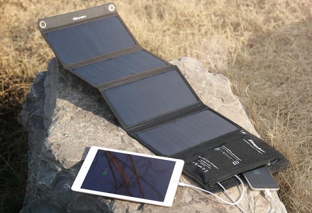 Solar-Ladegeraet