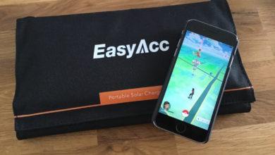 Bild von Test: EasyAcc Portable Solar Charger+ 28 Watt – Gratis-Strom für unterwegs