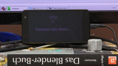 Bild von Uhr und Nachrichten immer auf dem Display – ohne Einschalten