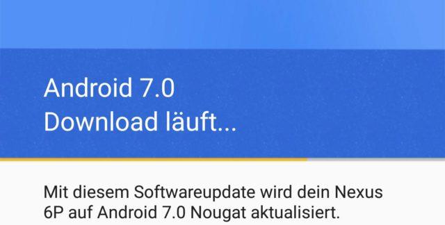 Durch die Mitgliedschaft in der Beta bekommt Ihr die finale Version von Android 7 zum Download angeboten
