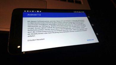 Bild von Anleitung: Update auf Android 7 beschleunigen