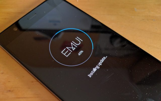 Huawei P9 Plus Android-Update