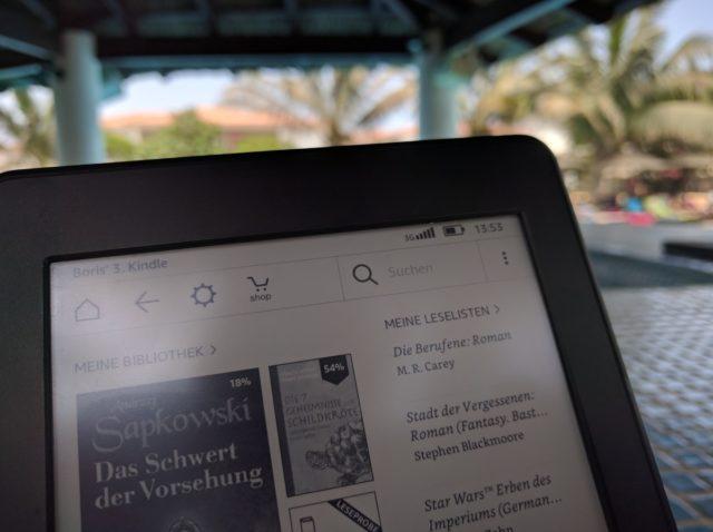 Mit dem 3G-Modell versorgt Ihr den Kindle im Urlaub auch abseits von WLANs mit neuen Büchern